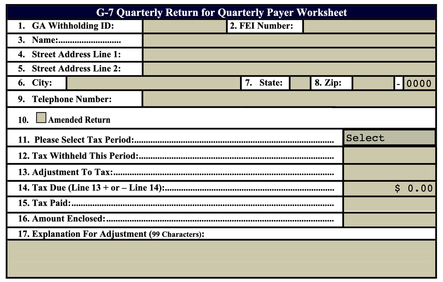 ga payroll tax withholding tables