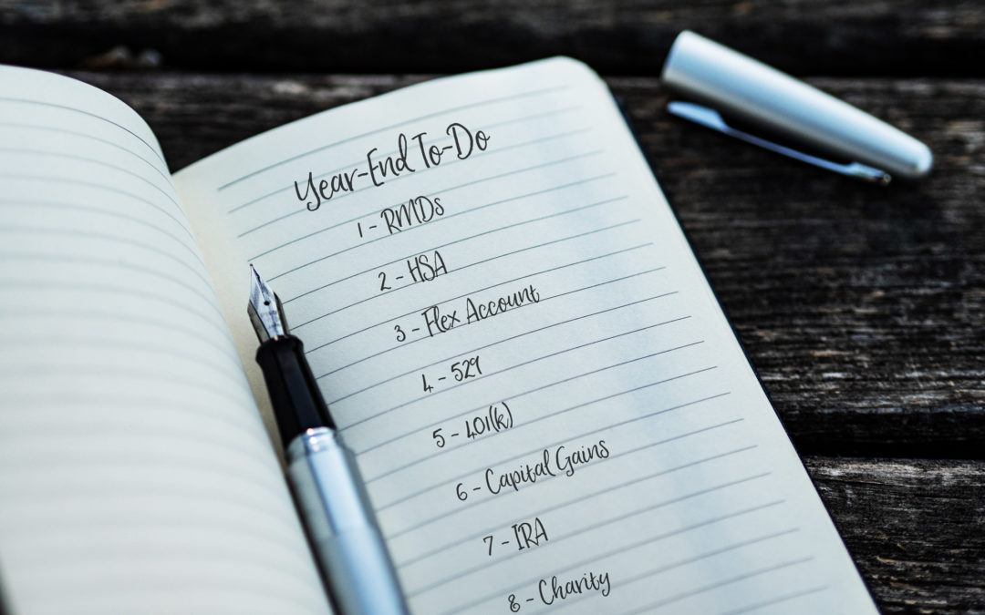 Year-End Checklist for Your Personal Finances